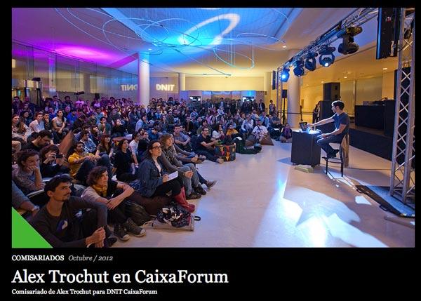 Caixa Forum Alex Trochut